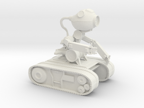 Echobot in White Natural Versatile Plastic