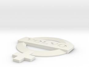 Volvo Woman in White Natural Versatile Plastic