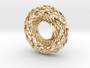 Torus 12, large in 14k Gold Plated