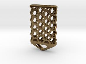 Hex Lantern X5: Tritium (All Materials) in Polished Bronze