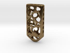 Heart Lantern X4: Tritium (All Materials) in Polished Bronze