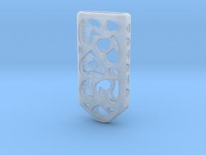 Heart Lantern X4: Tritium (All Materials) in Smooth Fine Detail Plastic