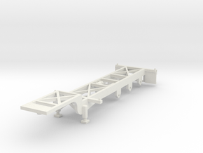 000065 USA Container Trailer HO 1:87 in White Strong & Flexible