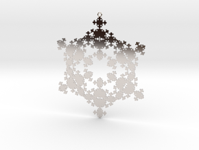 Fractal Snowflake 1 - LP in Platinum
