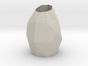 Vase (short) in Natural Sandstone