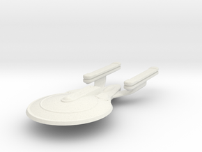 Uss Lamport in White Natural Versatile Plastic