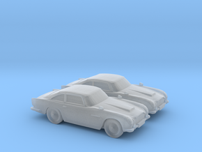 1/148 2X Aston Martin DB5 in Smooth Fine Detail Plastic