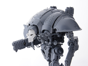 Heresey Era mask for Knight Titan in Frosted Ultra Detail