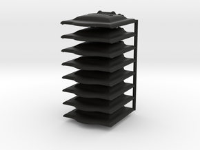 Axle Box Covers in Black Natural Versatile Plastic