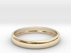 PA RingEasyCT12t08H3d18 in 14K Gold