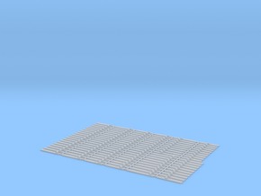 O Scale Num 10 Hook Plate Array (repaired) in Smooth Fine Detail Plastic