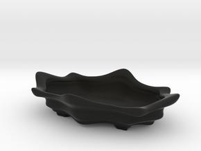 Bonsai Pot - Lotus Blossom in Black Natural Versatile Plastic
