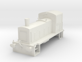 CLASS03 N GAUGE SHELL in White Natural Versatile Plastic