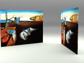 The Persistense Of Memory (Salvador Dali) in Full Color Sandstone