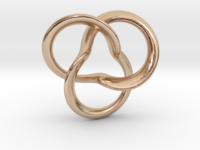 clover Knot in 14k Rose Gold