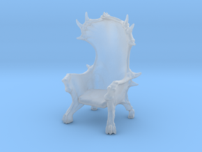 Devil Chair in Smooth Fine Detail Plastic