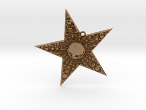 Deco Star in Natural Brass