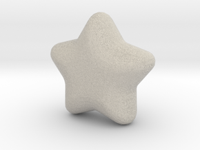 Cute candy Star in Natural Sandstone