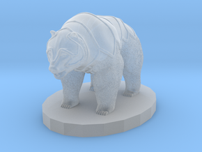Armored Bear in Frosted Ultra Detail