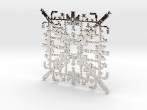 Super Mario Snowflake 2 in Platinum
