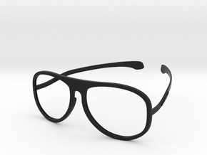 MODERN AVIATOR II- SHOREHILL EYEWEAR in Black Natural Versatile Plastic