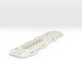 Sand Ramp V1 1/10 scale in White Natural Versatile Plastic
