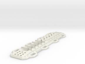 Sand Ramp V1 1/10 scale in White Natural Versatile Plastic
