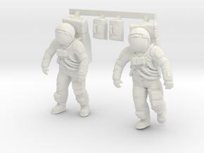 1: 48 Apollo Astronaut a7lb Type / Set ll in White Strong & Flexible