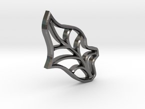 Single Leaf - Tiling the Plane - Multi-use  in Polished Nickel Steel
