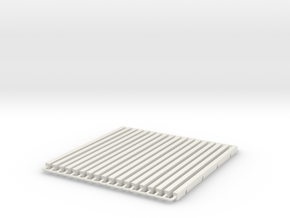 WUS Platform Longitudinal in White Natural Versatile Plastic