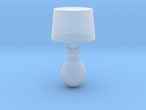 Miniature 1:48 Table Lamp in Smoothest Fine Detail Plastic