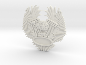 "Immortan Joe ""Eagle"" Badge / Medal - Easyriders in White Strong & Flexible"