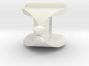 I♥U Shape 2 - View 1 in White Natural Versatile Plastic