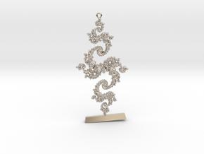 Julia Keychain 1 LP Custom in Platinum