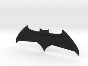 Batman vs Superman Dawn of Justice Batarang in Black Natural Versatile Plastic