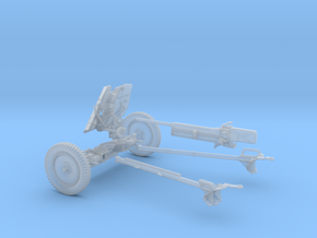 GA-004 Pak 36 AT gun 37mm L/45 28mm wargames in Frosted Ultra Detail