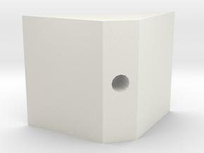 Construction Glue/Kit-dispenser in White Natural Versatile Plastic