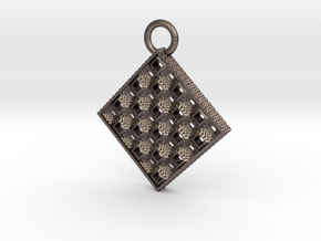 Toothy Grater Key Chain in Stainless Steel