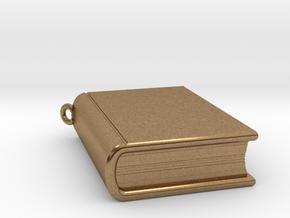 Book Nibbler - Custom in Natural Brass