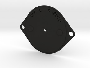 USAF Ww2 Magneto starter Plate in Black Natural Versatile Plastic
