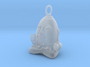 HUMPTY BUDA LOOP in Smooth Fine Detail Plastic