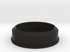 Smith/Capaldi Top Lamp Base Full Size in Black Natural Versatile Plastic