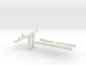Crosshead Guides and Rocker arms. in White Natural Versatile Plastic
