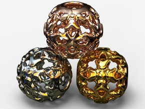 PA Ball V1 D14Se4932 in 18k Gold Plated Brass