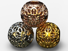 PA Ball V1 D14Se4946 in 18k Gold Plated Brass