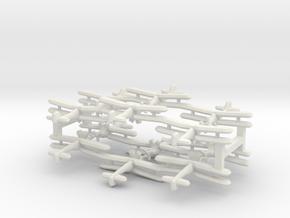 Fairey Albacore (triplet) 1:900 x4 in White Natural Versatile Plastic