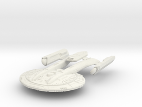 Akira Class Refit III in White Strong & Flexible
