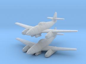1/200 Messerschmitt Me-262A-2 (x2) in Smooth Fine Detail Plastic