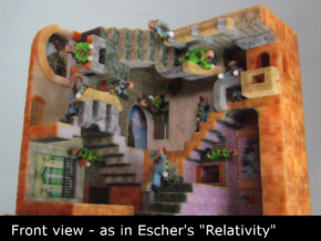 Relativity Crash Mash in Full Color Sandstone