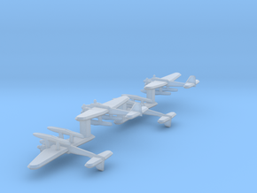 He 115 (Single) 1:900 x4 in Smooth Fine Detail Plastic